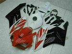 MS Injection Plastic Red White Fairing Fit for Honda 2004-2005 CBR1000RR u0108