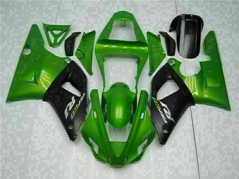 MSB Injection Mold Kit Green ABS Fairing Fit for Yamaha 2000-2001 YZF R1 g003
