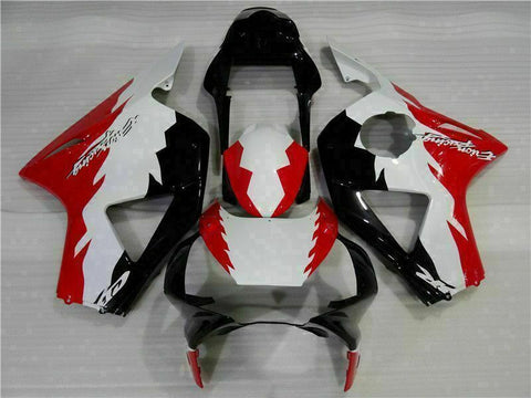 MS Injection Red White Fairing Kit Fit for Honda 2002 2003 CBR954RR 900RR u026