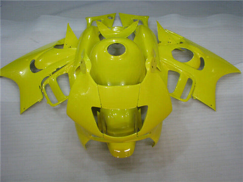 MSA Injection Yellow Tank Cover Fairing Fit for Honda 1997-1998 CBR600F3 u026