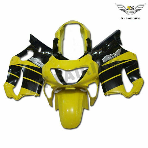 MSC Yellow Fairing Injection Fit for Honda 1999-2000 CBR600 F4 ABS Plastic WTH v017