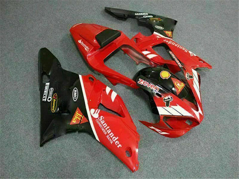 MSB Injection Mold Kit Red ABS Fairing Fit for Yamaha 2000-2001 YZF R1 f014