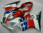 MS Injection Fairing Red White Blue Fit for Honda 2001-2003 CBR600 F4I u039