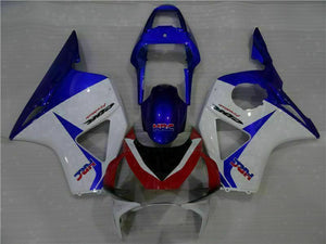 MS Injection Blue White Fairing Kit Fit for Honda 2002 2003 CBR954RR 900RR u024
