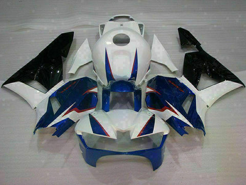 MS Injection Mold Blue White Fairing Set Fit for Honda 2013-2018 CBR600RR u007 Available in IL