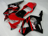 MSA Red Black Injection Fairing Kit Fit for Honda 2002 2003 CBR954RR 900RR v025