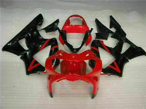 MS Injection Molding Fairing Red Set Fit for ABS Honda CBR929RR 2000-2001 u026