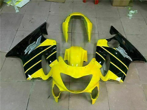 MS Yellow Black Fairing Injection Fit for Honda 119999-2000 CBR600 F4 Plastic u037