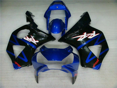 MSA Injection Mold Blue Fairing Kit Fit for Honda 2002 2003 CBR954RR 900RR a014