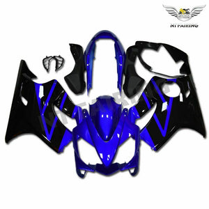 MSB Injection Mold Blue Fairing Kit Fit for Honda 2004-2007 CBR600 F4I WTH w016