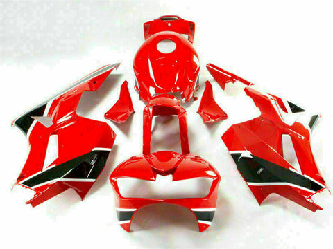 MSA Injection Red Fairing Kit Fit for Honda 2013-2018 CBR600RR Plastic WTH u017