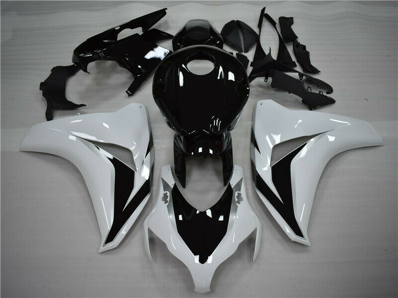 MSA Injection White Black Fairing Kit Fit for Honda 2008-2011 CBR1000RR h014