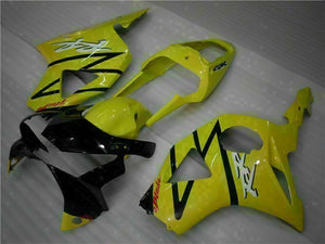 MS Injection Mold Fairing Yellow Kit Fit for ABS Honda CBR954RR 2002-2003 u011