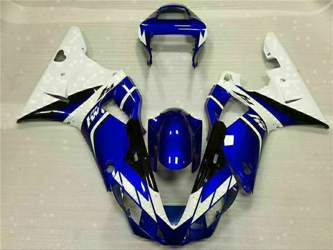 MSB Injection Mold Blue Plastic Fairing Fit for Yamaha 2000-2001 YZF R1 j015-02