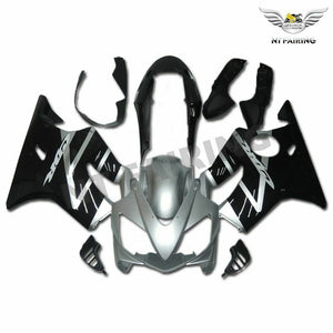 MS Injection Mold Silver Black Fairing Fit for Honda 2004-2007 CBR600 F4I u022