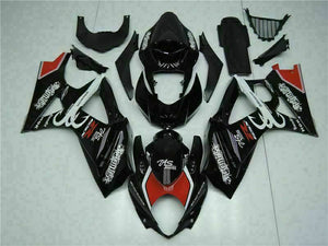 MS Injection Molding Black Fairing Kit Fit for Suzuki 2007-2008 GSXR 1000 q054