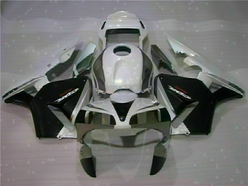 MSA Injection Mold ABS White Fairing Fit for Honda 2003-2004 CBR600RR u066