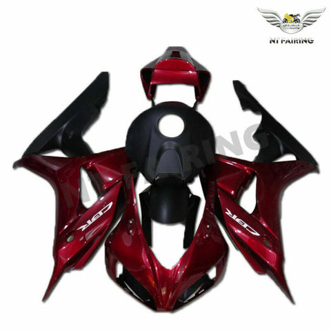 MS Injection Red Kit Fairing Fit for Honda 2006-2007 CBR1000RR Mold Set u082
