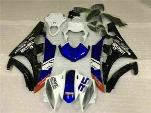 MS Injection Bodywork White Black Fairing Fit for Yamaha 2006-2007 YZF R6 g070