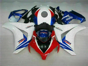 MS Injection White Blue Plastic Fairing Fit for Honda 2008-2011 CBR1000RR u051 Available in TX