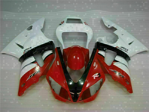 MSB Injection Mold Kit Red Plastic Fairing Fit for Yamaha 2000-2001 YZF R1 g024