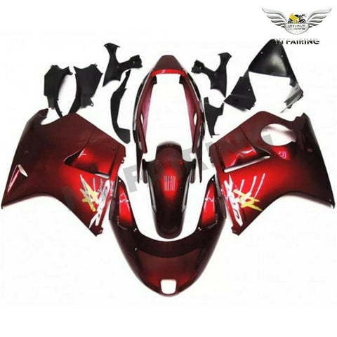 MSA Injection Red  Fairing ABS Fit for Honda 1996-2007 CBR1100XX u008