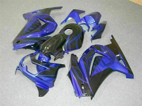 MS Fit for Kawasaki 2008-2012 EX250 250R Plastic New Injection Fairing t043-T