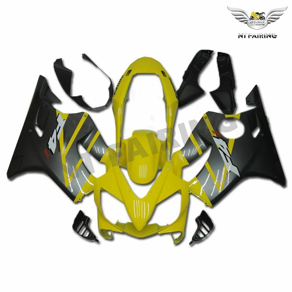 MS Injection Mold Yellow Black Fairing Fit for Honda 2004-2007 CBR600 F4I u001