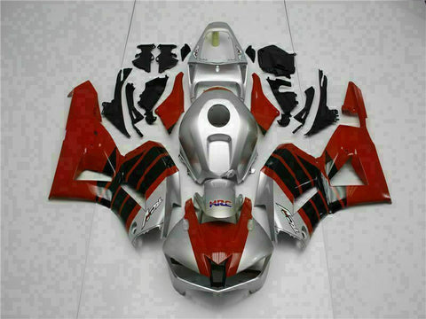 MS Injection Mold Red Silver Fairing Set Fit for Honda 2013-2018 CBR600RR t003