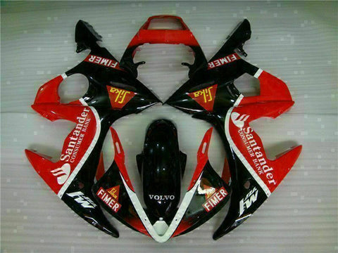MS Injection Mold Red Black Fairing Fit for Yamaha YZF 2003-2005 R6 & 06-09 R6S g020