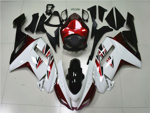 MSA Fit for Kawasaki 2007 2008 ZX6R Plastics With Seat Cowl Injection Fairing k015