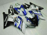 MS Injection Mold White Blue ABS Kit Fairing Fit for Yamaha 2008-2015 YZFR6 e019