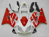 MSA Injection Mold Red White Fairing Fit for Honda 2001-2003 CBR600 F4I TH v060