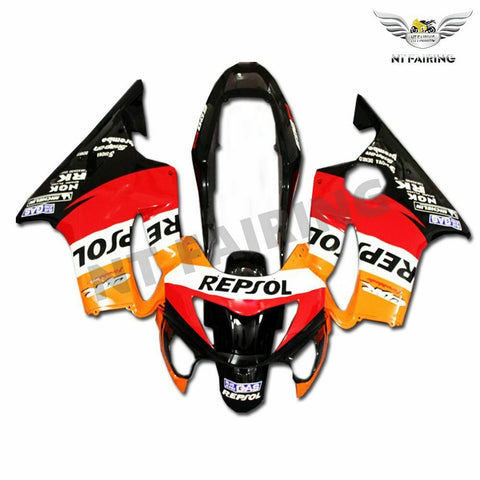 MS Orange Fairing Injection Fit for Honda 1999-2000 CBR600 F4 ABS Plastic u003