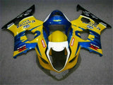 MS Injection Mold Yellow Blue Fairing Fit for Suzuki 2003-2004 GSXR 1000 q001