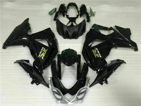MS Injection Mold Black Fairing ABS Kit Fit for Suzuki 2009-2016 GSXR 1000 r002