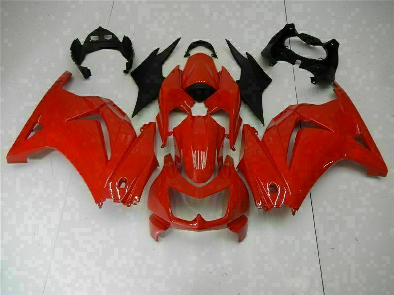 MS Fit for Kawasaki 2008-2012 EX250 250R Plastic New Injection Fairing t008-T
