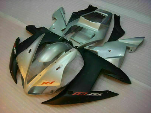 MSB Injection Mold Kit Silvery Fairing Fit for Yamaha 2002-2003 YZF R1 j003-03