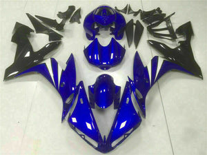 MSB Injection Blue Plastic Fairing Fit for Yamaha 2004-2006 YZF R1 Bodywork e018