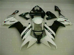 MSA Fit for Kawasaki 2008-2010 ZX10R ZX-10R ABS Green Black Injection Fairing t009-T