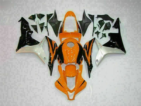 MSA Injection Orange Fairing Set Fit for Honda 2007-2008 CBR600RR Plastic u012