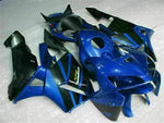 MSA Injection Blue Fairing Fit for Honda 2005-2006 CBR600RR ABS Plastic v012