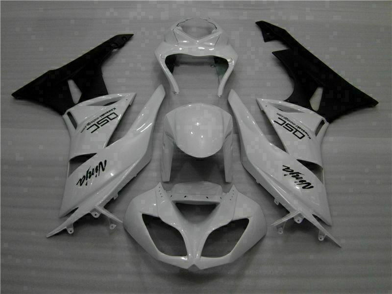MSA Injection Fairing Fit for Kawasaki 2009-2012 ZX6R Plastic With Seat Cowls t035-T