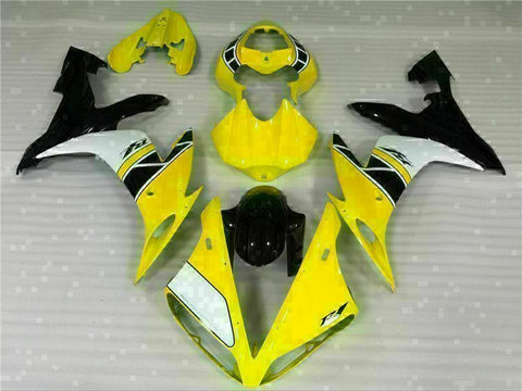 MSB Injection  Yellow Plastic Fairing Fit for Yamaha 2004-2006 YZF R1 ABS g049