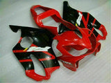 MSA Injection Mold Red Fairing Kit Fit for Honda 2001-2003 CBR600 F4I TH u001