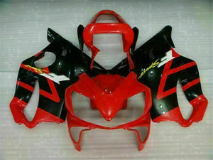 MS Injection Fairing Red Black ABS Set Fit for Honda 2001-2003 CBR600 F4I u020