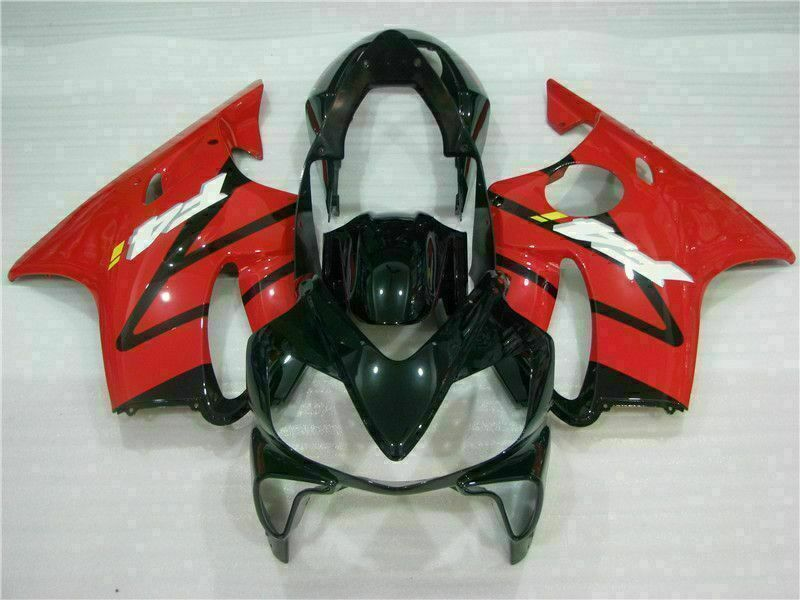 MS Injection Mold Red Black Fairing Kit Fit for Honda 2004-2007 CBR600 F4I u013