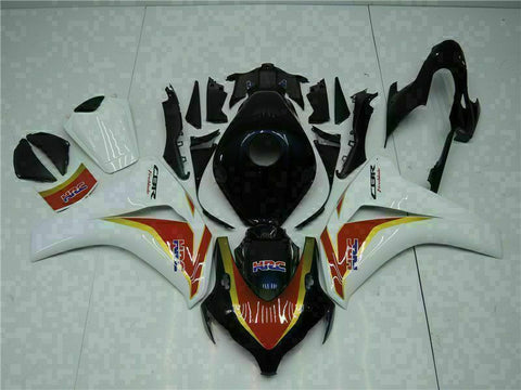 MS Injection New Set Black Fairing ABS Fit for Honda 2008-2011 CBR1000RR u083