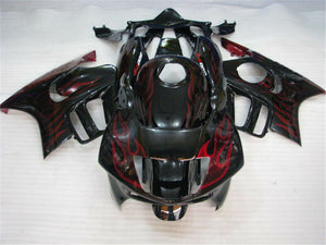 MSA Red Flame Injection Fairing Set Fit for Honda 1997-1998 CBR600F3 u007