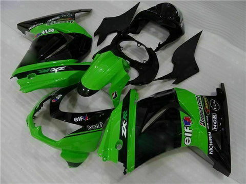 MS Fit for Kawasaki 2008-2012 EX250 250R Plastic Black Injection Fairing n014-T